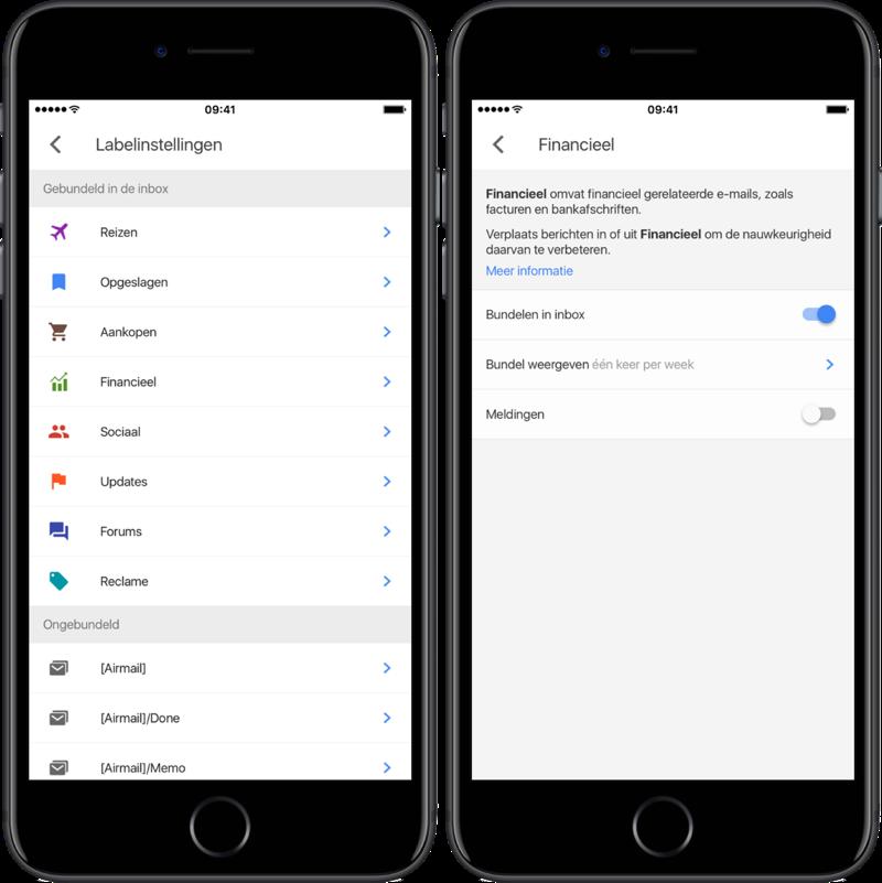 Google Inbox inboxbundel.