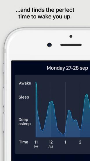 Sleep Cycle Alarm Clock voor iPhone.