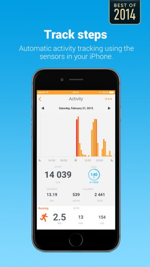 Withings Health Mate.