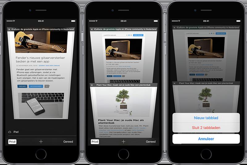 Privémodus Safari voor iOS
