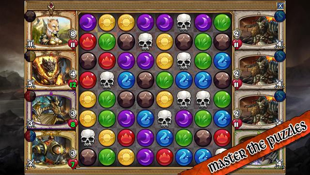 Gems of War review iPhone iPad screenshot