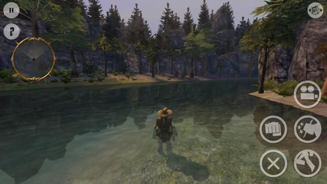 Oddworld Stranger in het water