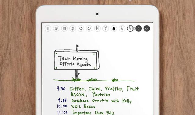 Penultimate Evernote iPad