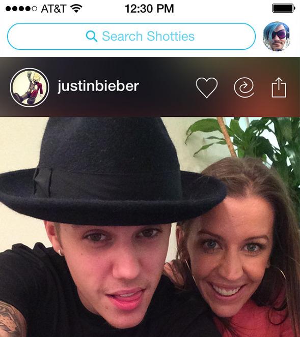 Just Bieber shots