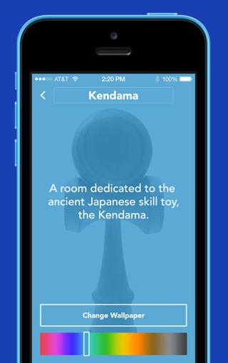 Facebook Rooms iPhone kleur instellen