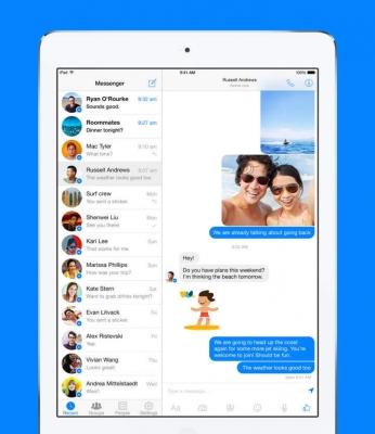 Messenger iPad