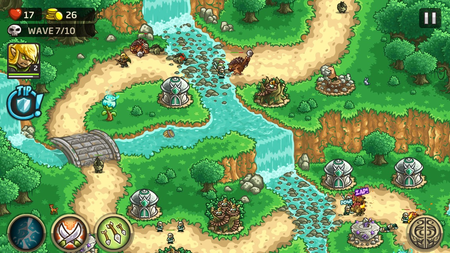 Kingdom Rush iPhone iPad groen