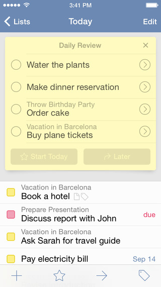 Things todo-app iPhone gratis