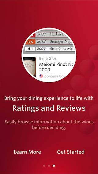 Vivino Wine Scanner menukaart scannen