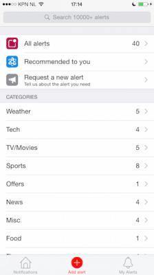 Hooks review iPhone overzicht