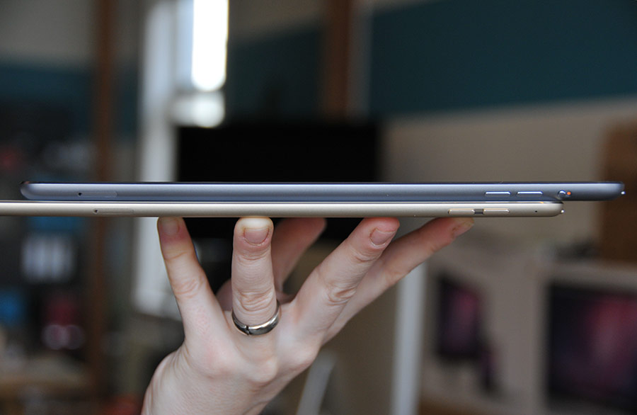 iPad Air 2 review in handen