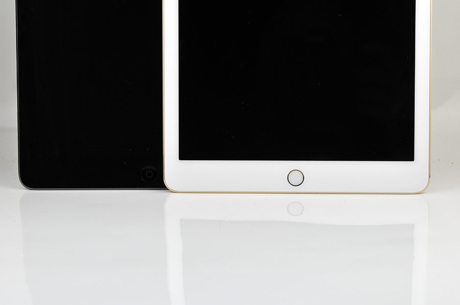 iPad Air 2 review  Touch ID sensor