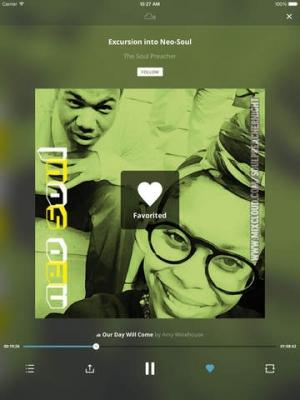 Mixcloud iPad muziekspeler