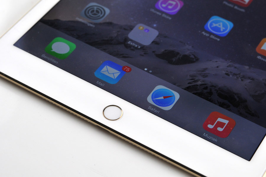 iPad Air 2 review onderkant