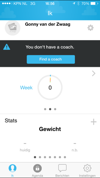 fitmo app dashboard