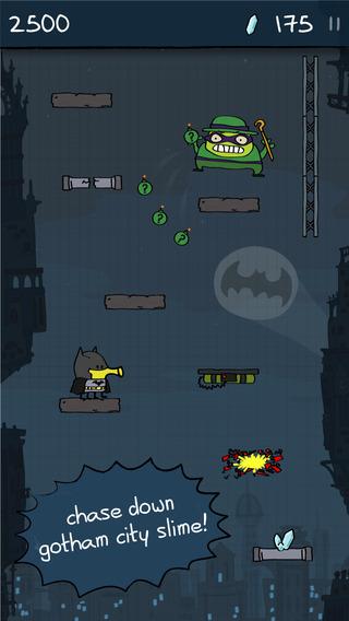 Doodle Jump DC Super Heroes Riddler