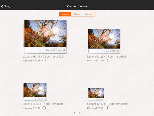 Albelli Fotoboeken covers kiezen