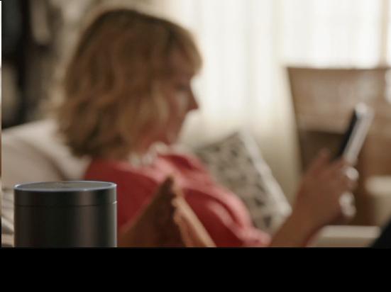 Amazon Echo Siri-assitent met speaker