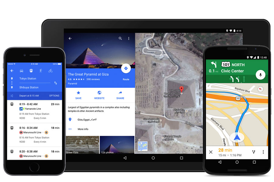 google-maps-material-design