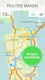 Maps.me Pro iPhone iPad