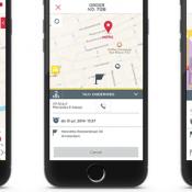 TCA eCab Uber concurrent iPhone