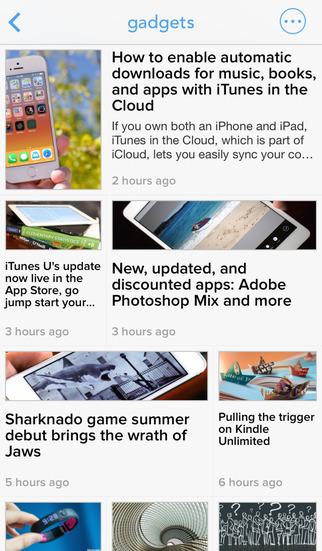 Newsify iPhone RSS nieuwsapp iPhone