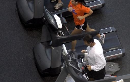 RunKeeper lopende band rennen
