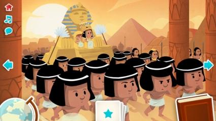 Cleopatra voor kinderen