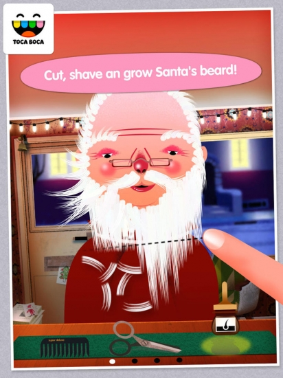Toca Hair Salon Christmas