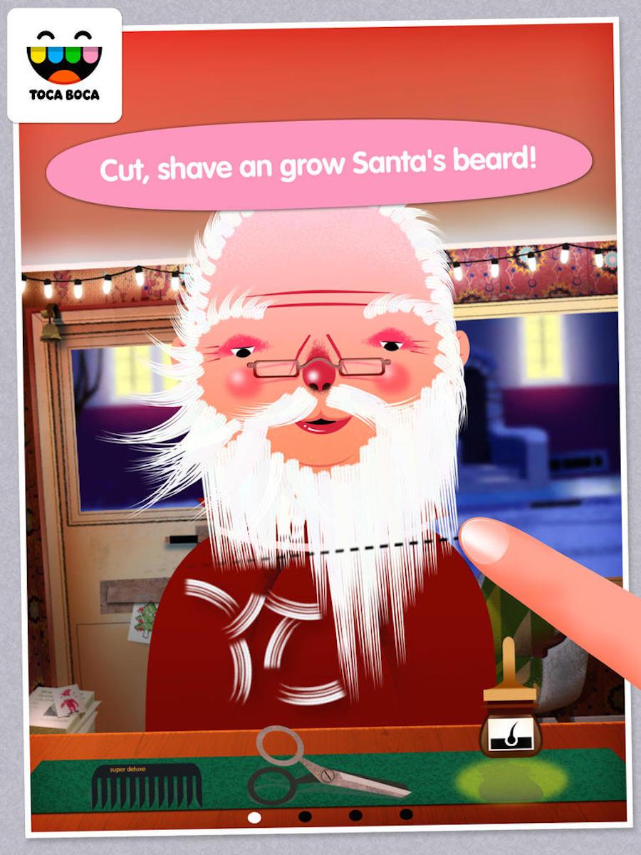 Toca Hair Salon Christmas