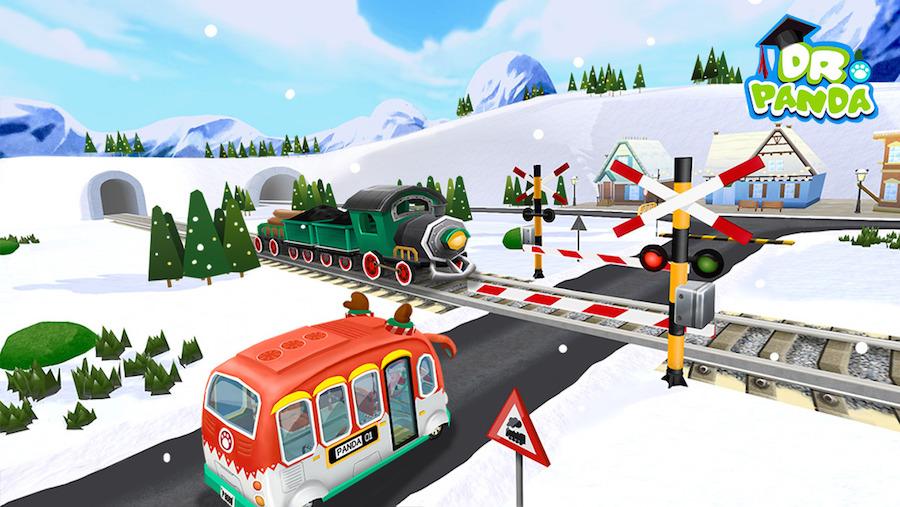 Dr. Panda's Kerstbus