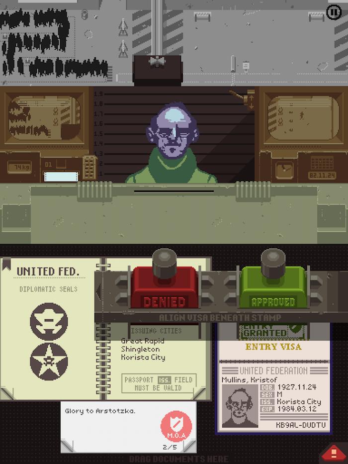 Papers, Please 1