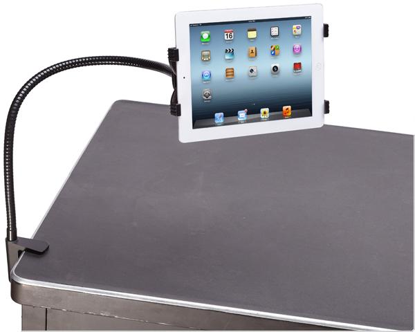 Flexibele iPad houder