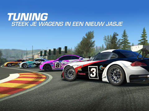 Real Racing 3 tuning auto's