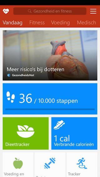 MSN Gezondheid en Fitness iPhone