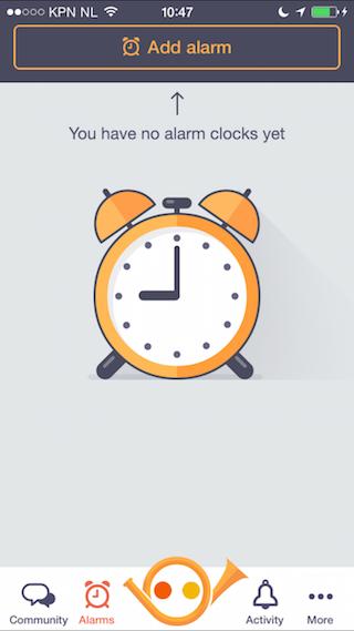 Wakie review alarm instellen wekker
