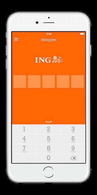 iPhone 6 ING Bankieren 1