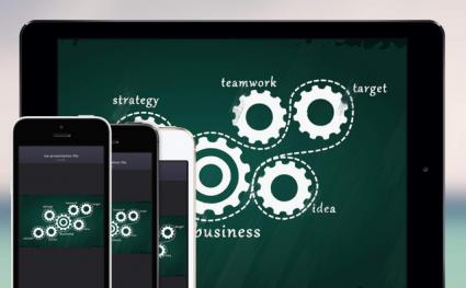 Preso.tv iPhone iPad presentaties chatten
