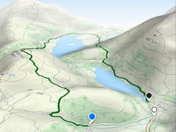 Maps 3D offline kaartenapp routes plannen