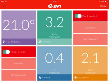 Eon EnergieAssistent iPad