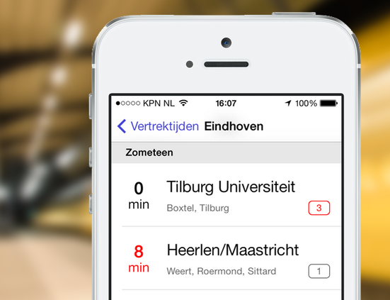 RailPlanner iPhone 1.5