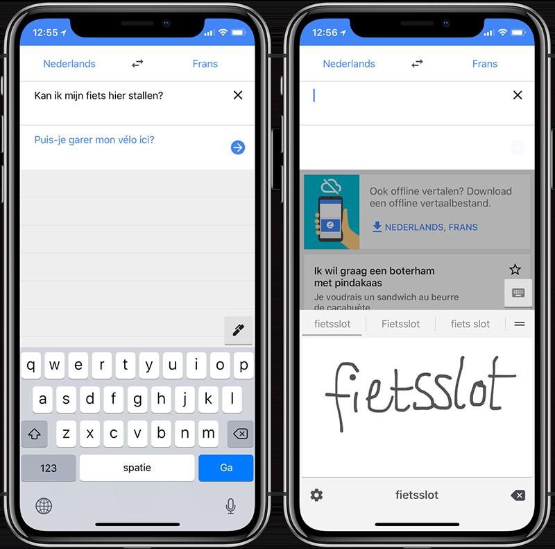 Vertalen op vakantie met je iPhone en iPad