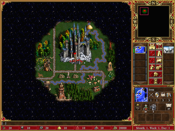 Heroes of Might & Magic III iPad