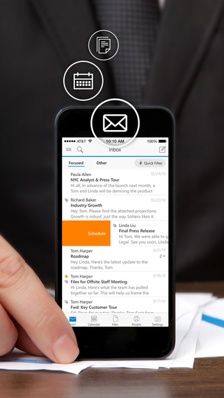 Outlook iOS Acompli