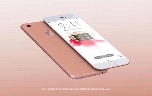 koperkleurige iPhone 7
