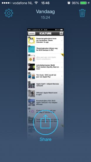 Tailor screenshot app