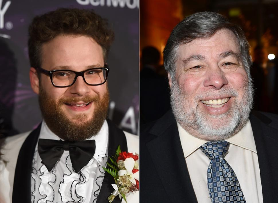 Seth Rogen Steve Wozniak