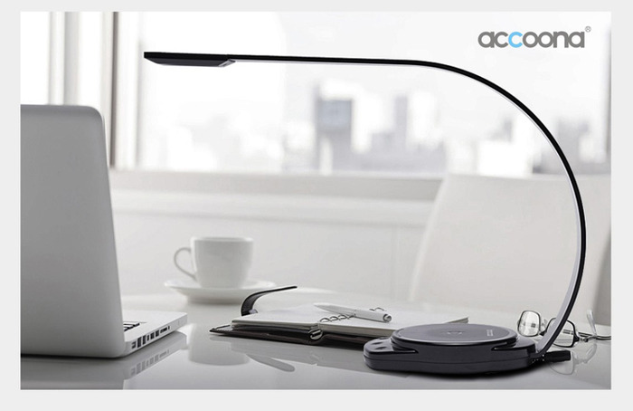 Accoona draadloze iPhone lader lamp