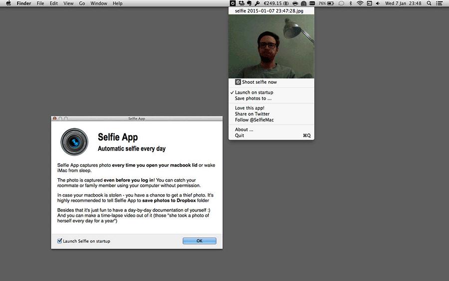 selfie-app-mac