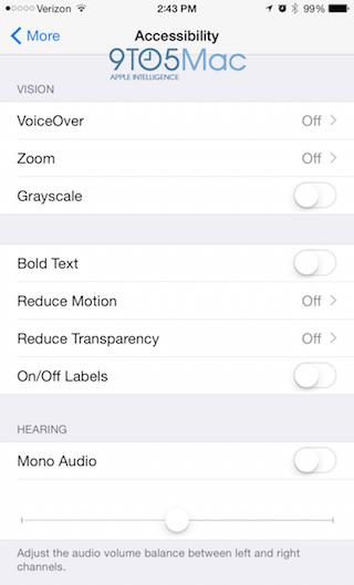 Apple Watch App toegankelijkheid